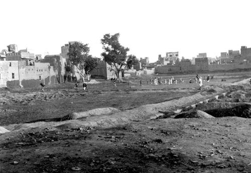 The site of the Amritsar Massacre