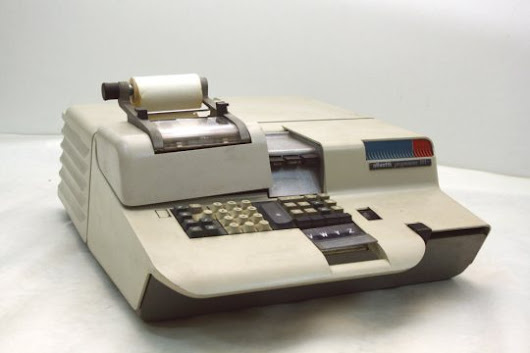 "14 OTTOBRE 1965: OLIVETTI PROGRAMMA 101 ""THE FIRST DESK TOP COMPUTER OF THE WORLD"""