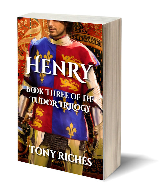 Henry by Tony Riches
