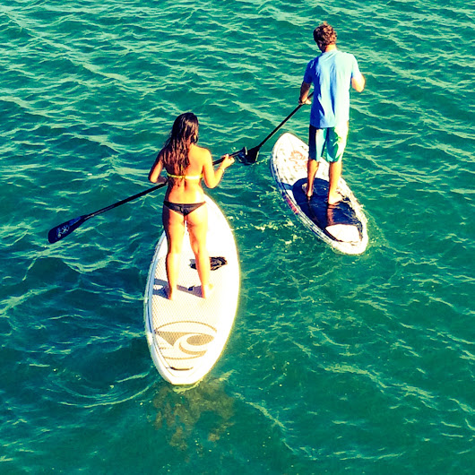 Summertime Sweat: Get Fit with This Stand-Up Paddleboarding Workout