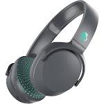 Skullcandy Riff Bluetooth Wireless On-Ear Headphones with Mic - Gray