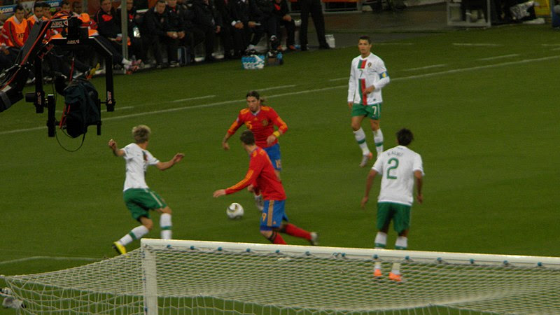 File:Spain and Portugal match at the FIFA  World Cup 2010-06-29  7.jpg