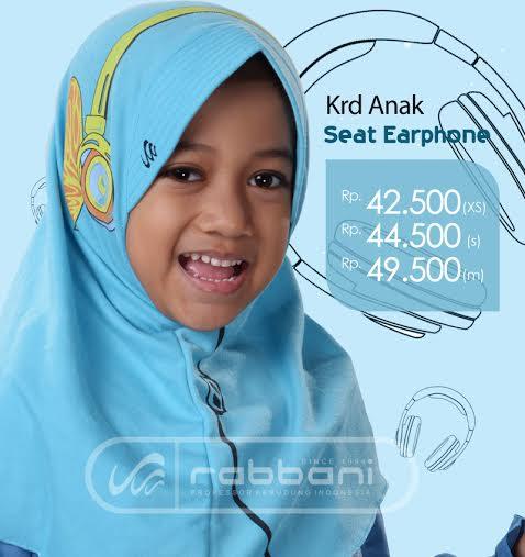 Jilbab Rabbani Anak dan harganya