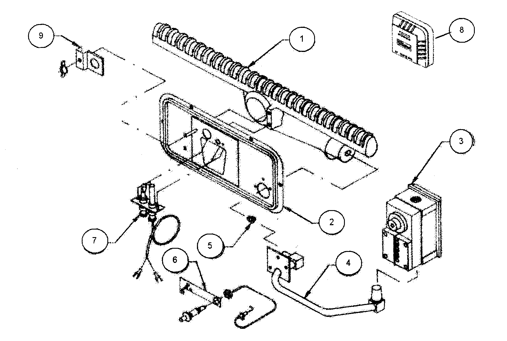 29 Williams Wall Furnace Parts Diagram