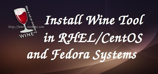 Wine 3.0 Stable Released - Install on RHEL, CentOS and Fedora