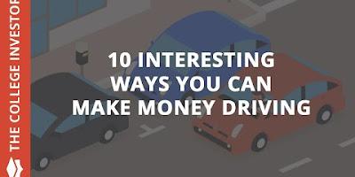 10 Cara Menarik Anda Dapat Menghasilkan Uang dengan Mengemudi