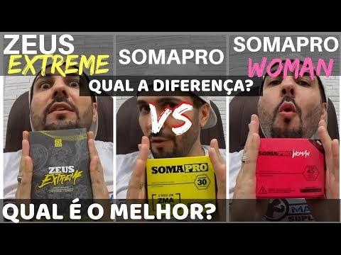 Diferença entre Zeus Extreme , Somapro e Somapro Woman - Qual é o melhor? Funciona? Dá resultados?