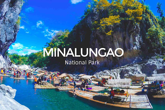 Day Tour Adventure at Minalungao National Park