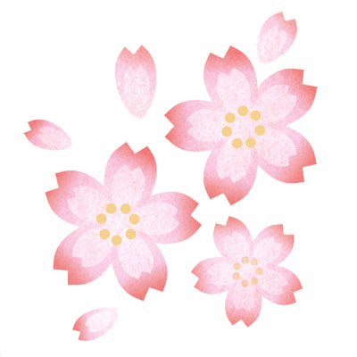 おしゃれなイラストが無料イラストカップillustcup 桜 グラデーション