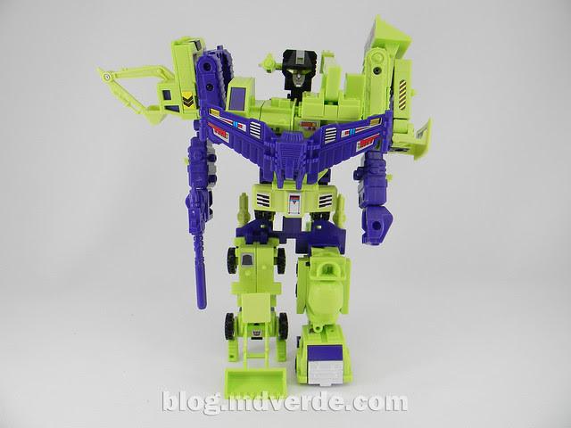 Transformers Devastator (Constructicons) - G1 Encore - modo combinado