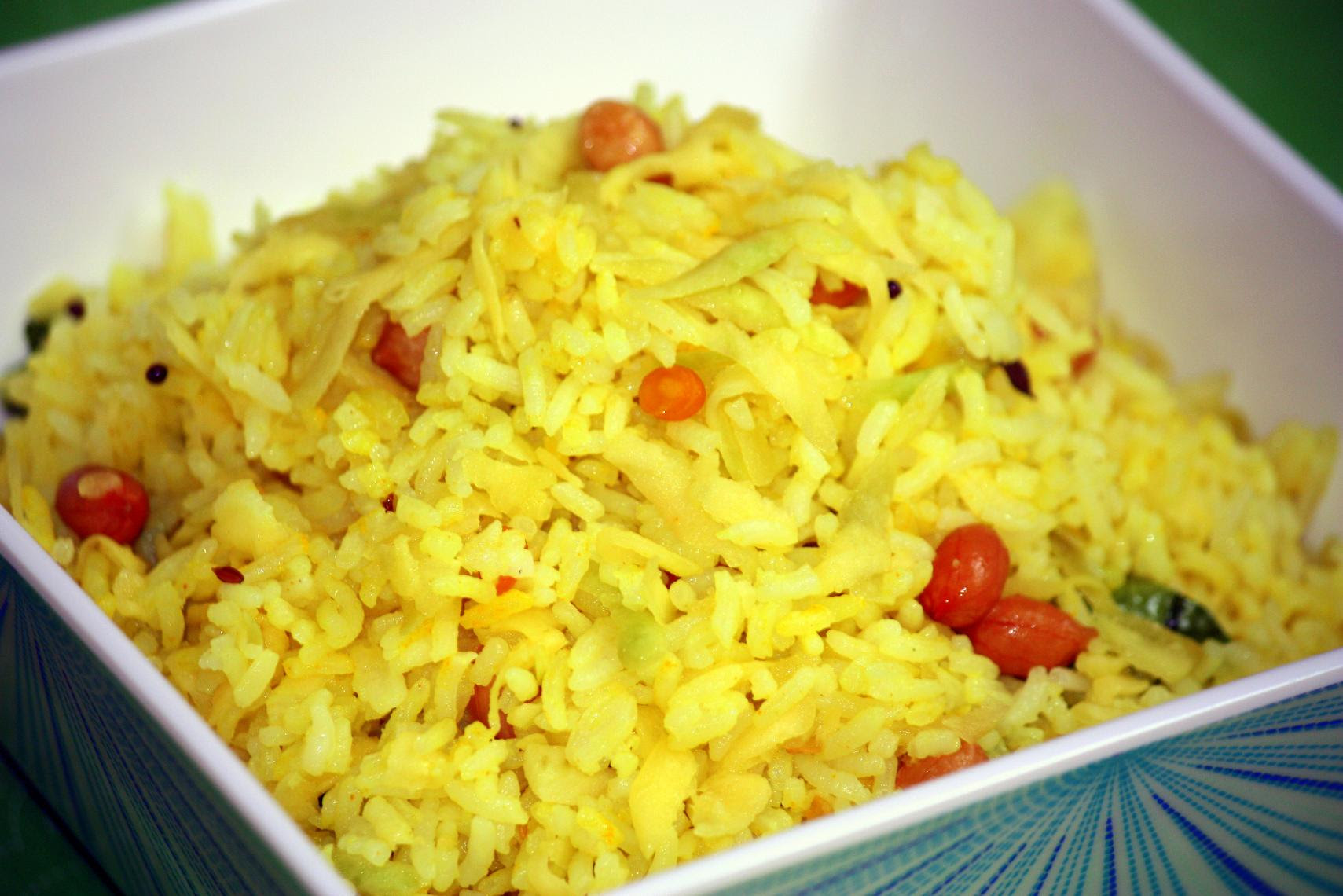Green Mango Rice Recipe — Dishmaps