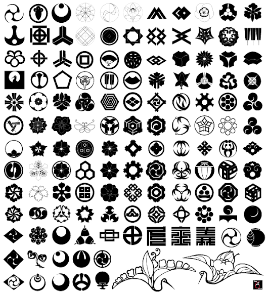 Free Japanese Traditional Elements Vector Set - 365psd