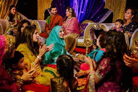 Pakistani Mehndi Ceremony