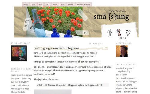 new blog design :: nytt blogdesign