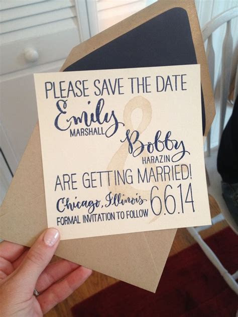 Best 25  Diy save the dates ideas on Pinterest   Save the