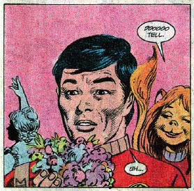 Star Trek #51 panel