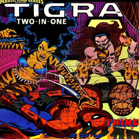 Tigra Two-in-One featuring Spider-Man & The Thing