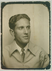 Photobooth man with jacket and tie