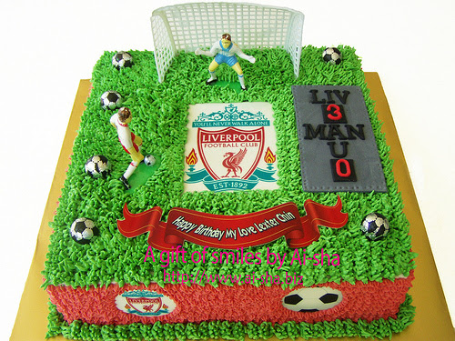 Birthday Cake Edible Image Liverpool Ai-sha Puchong Jaya