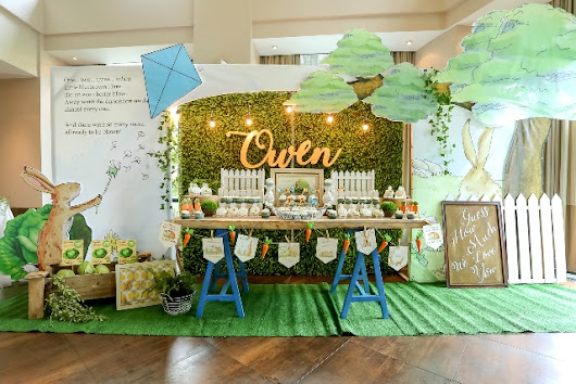 "Owen's ""Guess How Much I Love You"" Themed Party – Baptismal Celebration - Party Doll Manila"