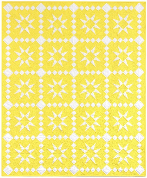 Quilting Tutorials Free Two Color Quilt Pattern