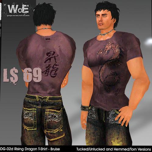 69L WoE Rising Dragon shirt