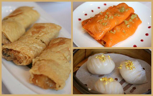 Various dim sum at Cuisine Cuisine