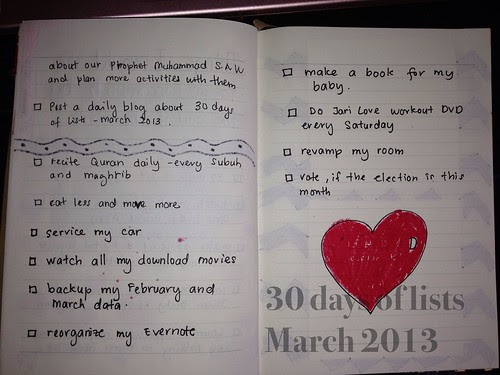 05. Things I would like to do