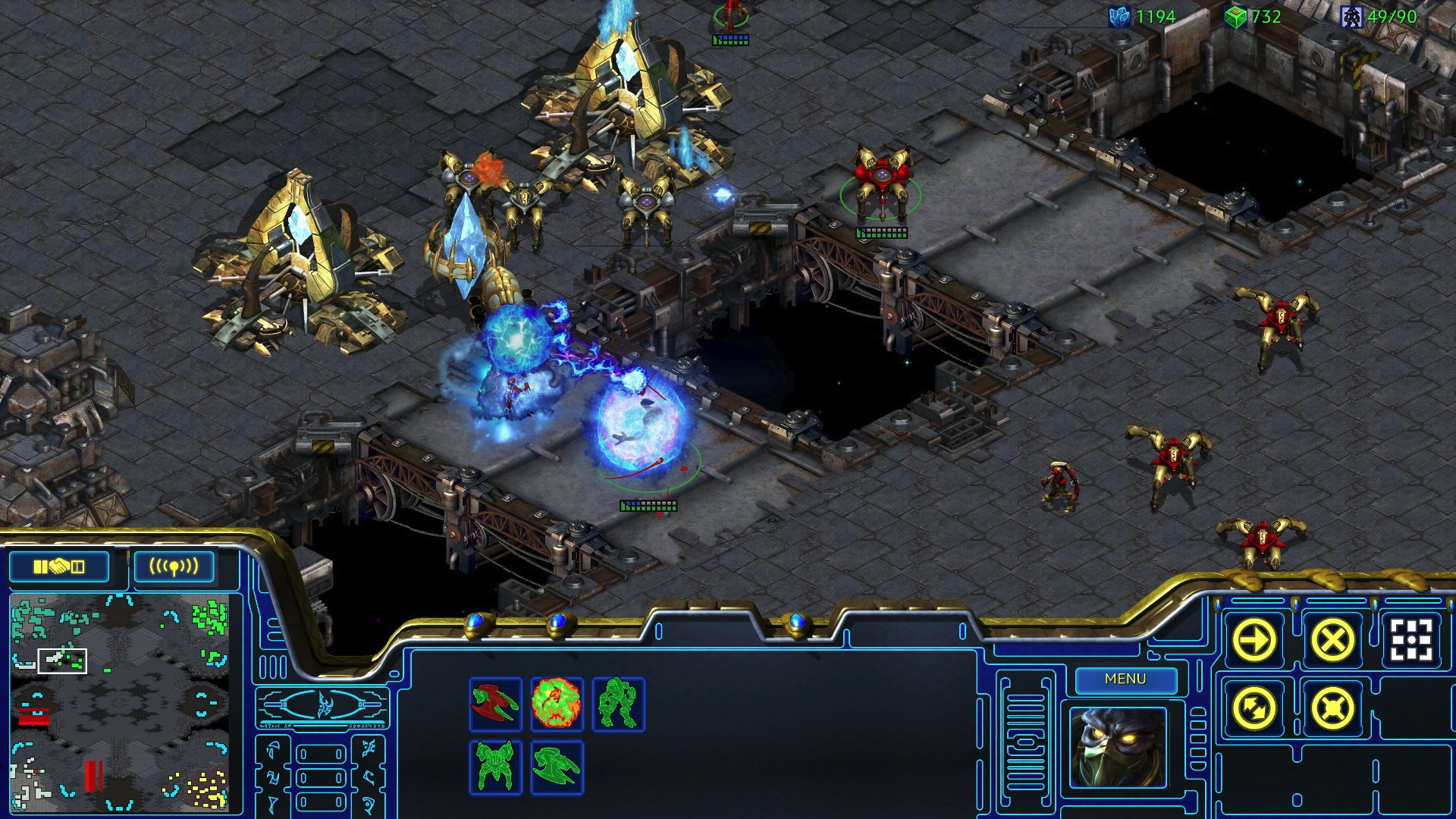 Oh dang, StarCraft Remastered is only $15 screenshot