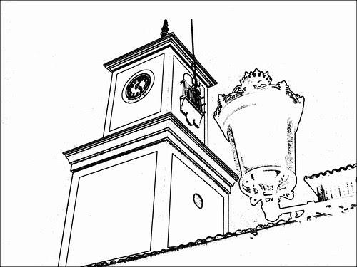 torre del reloj de valdemoro