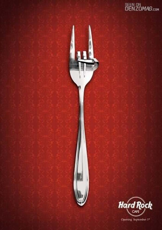 25.) Heavy metal fork.