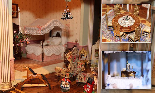 World's most expensive dollhouse worth $8.5 MILLION goes on display
