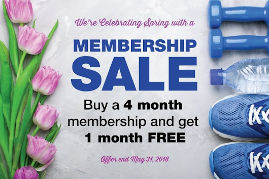 5 Month Membership Sale - Fitness Corner