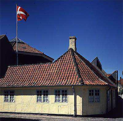 Bagian luar Andersen Museum (denmark.net)