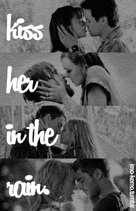 Couples Kissing In The Rain With Quotes 46164 Loadtve