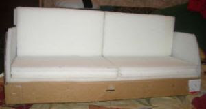 диван для куклы барби 2