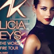 Alicia Keys Set The World on Fire Tour Presale Announced - Ticket On Sale List