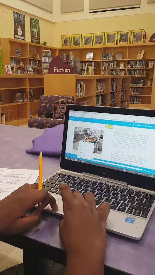 "Ms. Love on Twitter: ""Great deductive reasoning while he completes his e-book scavenger hunt.  #bcpslms #smartzonelibrary #wmmsreads #wmmslife """