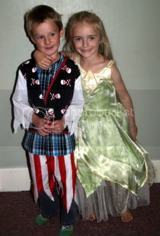 Bella & Oliver at her 5th birthday party