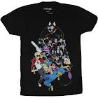 Homestuck Mens T-Shirt - Giant Character Pile Up Betas Image (X-Small)