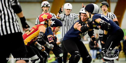 Les Anjou Derby Girls installent le Roller Derby à Angers - La Dalle Angevine