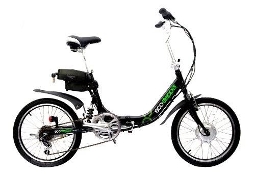 eco - stepper folding electric bike