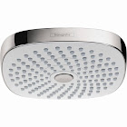 Hansgrohe 04387400 Croma 180 Select E 2-Jet Showerhead, White/Chrome
