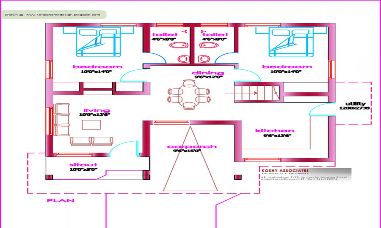 1000  Sq  Ft  House  Plans  Modern  House  Plans  1000  Sq  FT  home