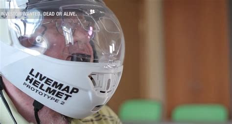 augmented reality motorcycle helmet  forthcoming