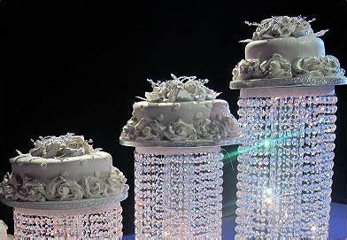 New Product ! Acrylic Crystal Chandelier Wedding Cake
