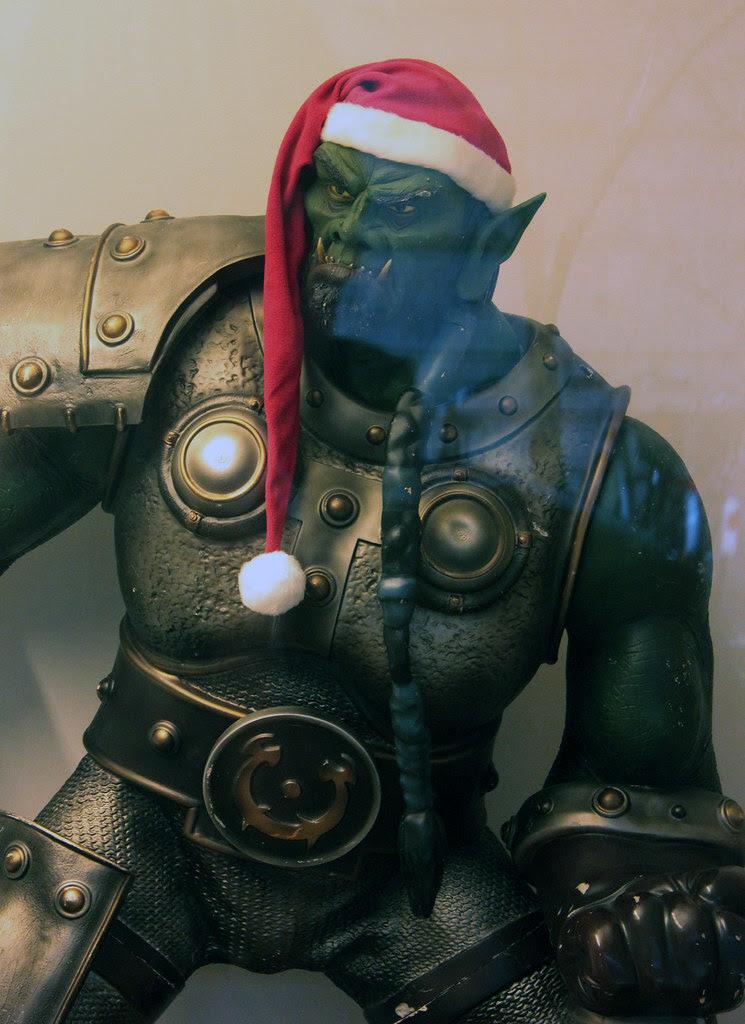 Half Elf, Half Orc?