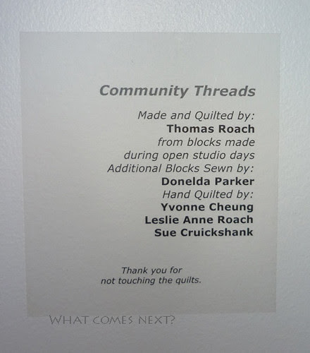 Community Threads Label