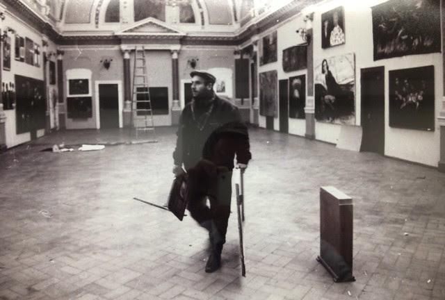 1987-1989 Photo of Mamuka Tsetskhladze by Guram Tsibakhashvili
