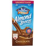 Blue Diamond Growers Almond Breeze Almond Milk Unsweetened Chocolate 32 fl oz
